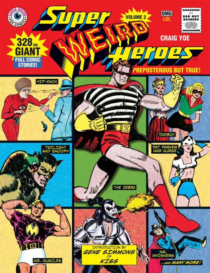 Super Weird Heroes Vol. 2: Preposterous But True!