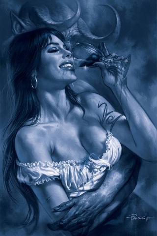 Vengeance of Vampirella #12 (35 Copy Parrillo Tint Virgin Cover)