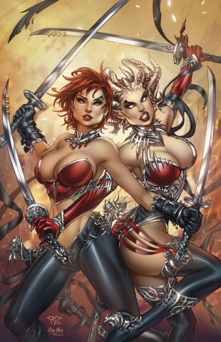 Grimm Fairy Tales: Inferno - The Rings of Hell #3 (Pantalena Cover)
