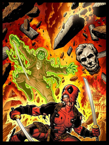 Deadpool #6 (Variant Cover)