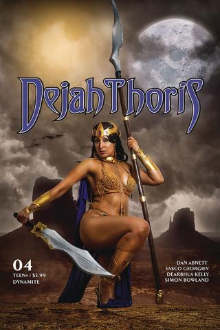 Dejah Thoris #4 (Tasha Cosplay UK Cover)