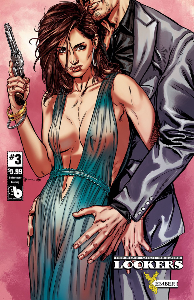 Lookers: Ember #3 (Undercover Evening Cover)