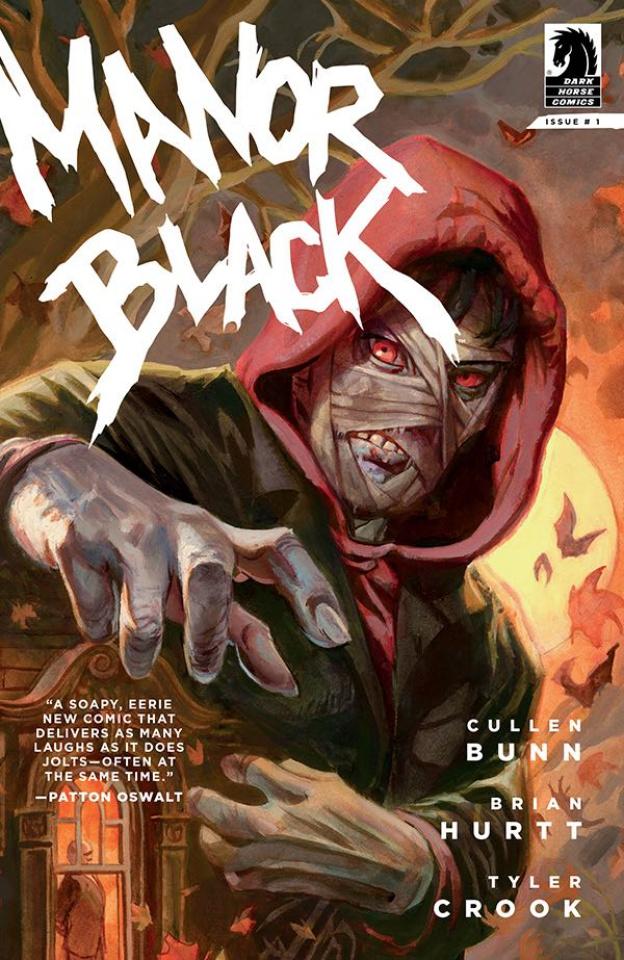 Manor Black #1 (Brereton Cover)