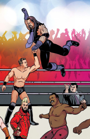 WWE #4 (Unlock Royal Rumble Connecting Cover)