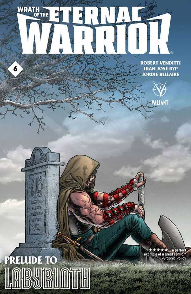 Wrath of the Eternal Warrior #6 (Ryp Cover)