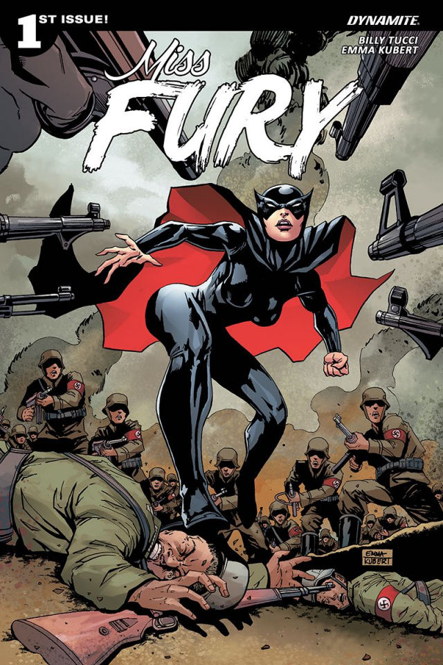 Miss Fury #1 (Kubert Cover)