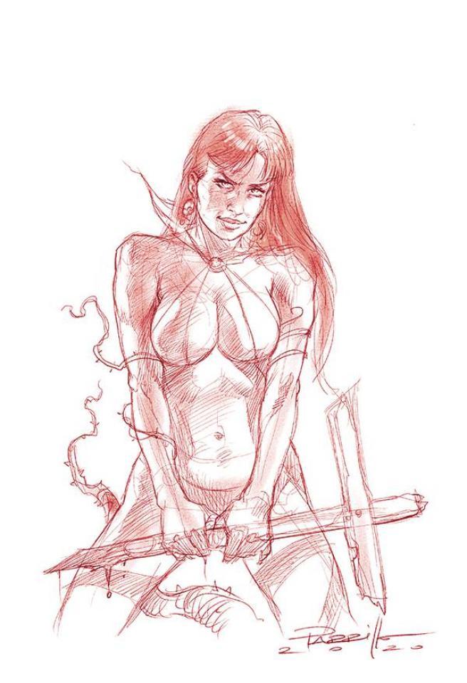 Vengeance of Vampirella #9 (35 Copy Parrillo Tint Virgin Cover)