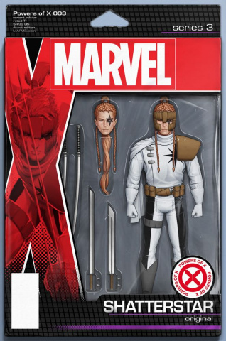 Powers of X #3 (Christopher Action Figure Cover)