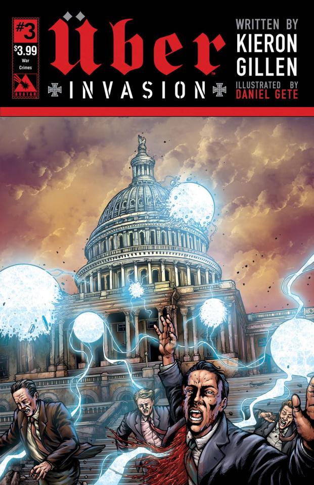 Über: Invasion #3 (War Crimes Cover)