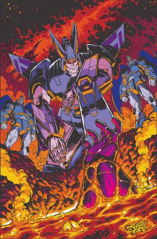 The Transformers #9 (10 Copy Guidi Cover)