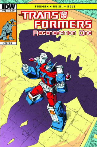 The Transformers: Regeneration One #93