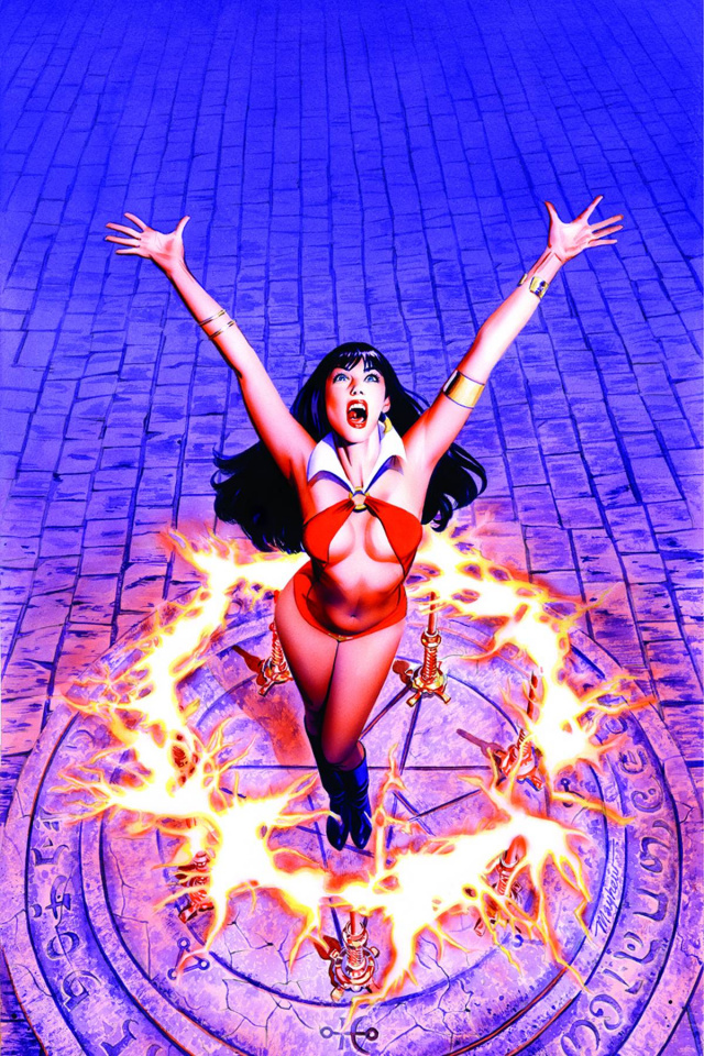 Vampirella #9 (25 Copy Mayhew Virgin Cover)
