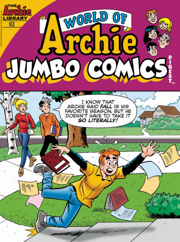 World of Archie Jumbo Comics Digest #92