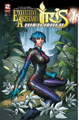 Executive Assistant Iris: Enemies Among Us #1 (Green Cover)