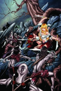 Grimm Fairy Tales Presents: Neverland #7 (Cummings Cover)