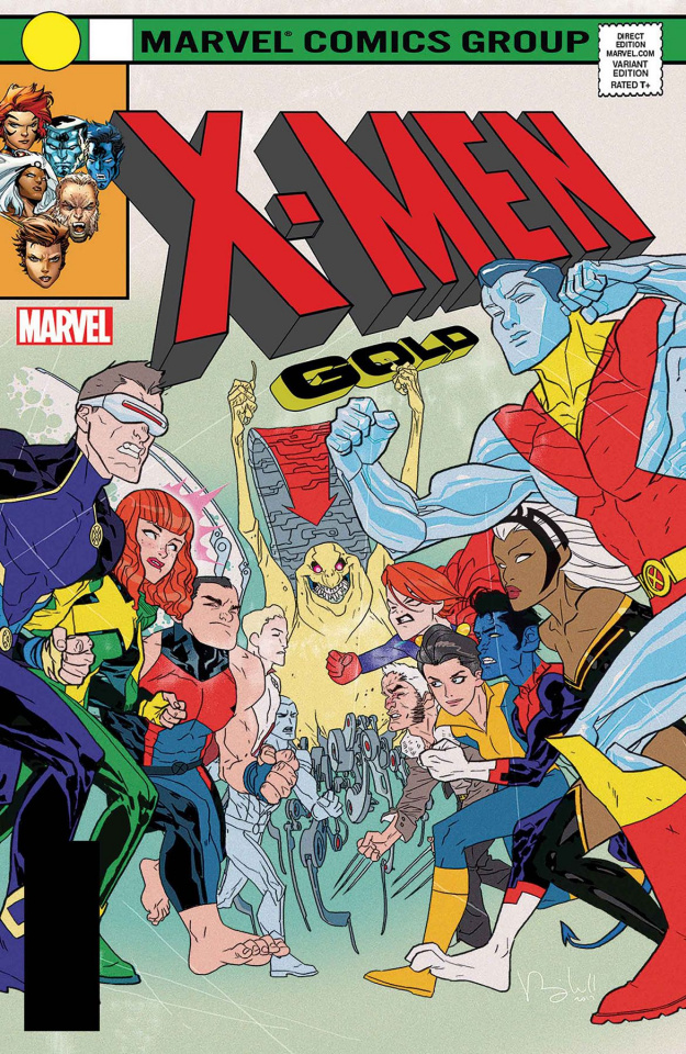 X-Men: Gold #13 (Caldwell Cover)