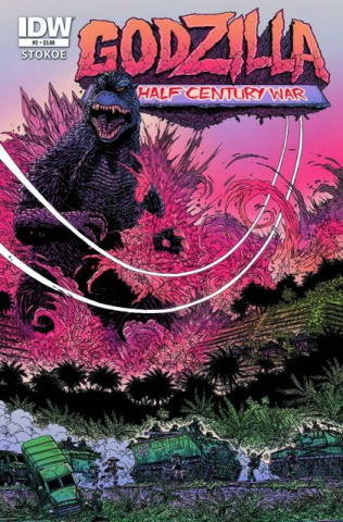 Godzilla: The Half Century War #2