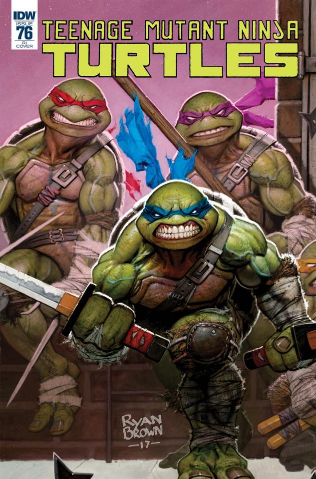 Teenage Mutant Ninja Turtles #76 (10 Copy Cover)