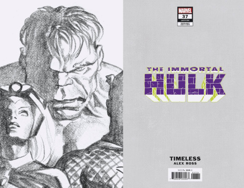 The Immortal Hulk #37 (Alex Ross Hulk Timeless Virgin Sketch Cover)