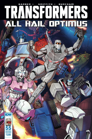The Transformers #55 (ROM Cover)