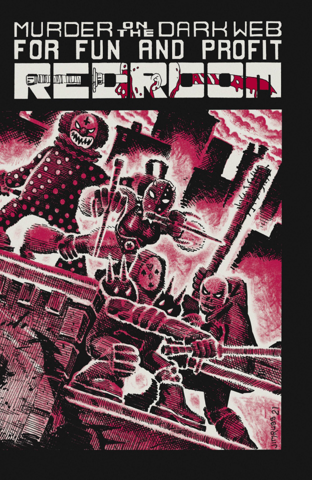 Red Room #3 (15 Copy Rugg Cover)