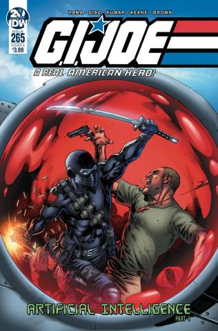 G.I. Joe: A Real American Hero #265 (Diaz Cover)