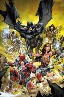 Justice League #32 (Metal Cover)
