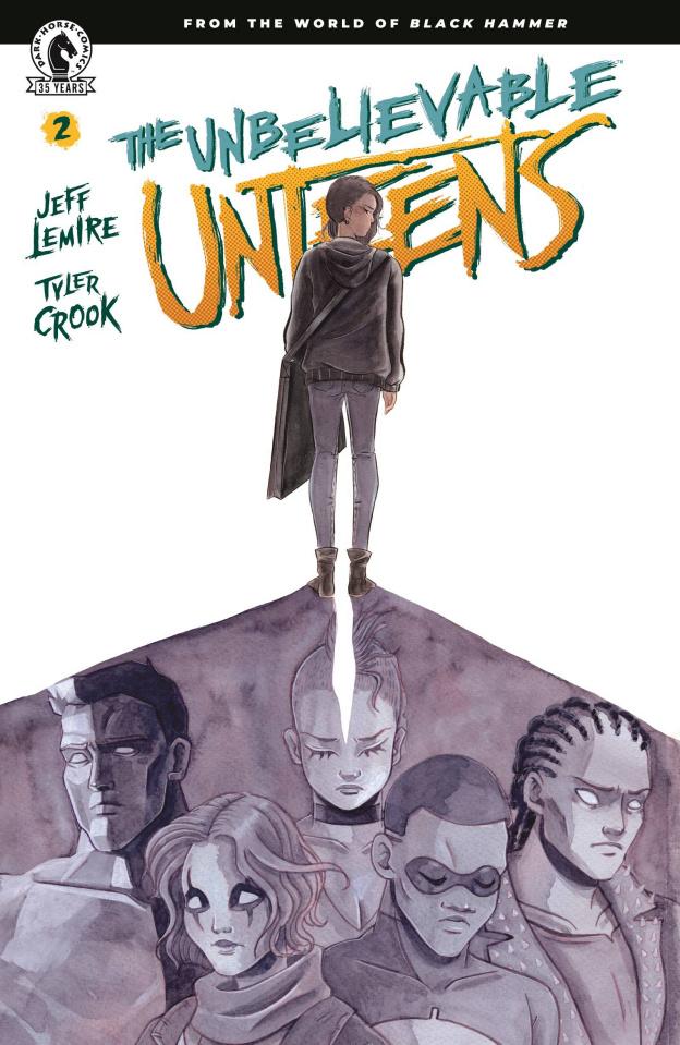 The Unbelievable Unteens #2 (Lenox Cover)