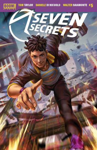 Seven Secrets #5 (Chew Cover)