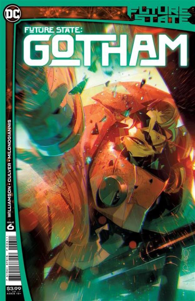 Future State: Gotham #6 (Simone Di Meo Cover)
