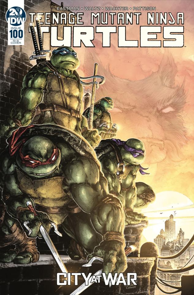 Teenage Mutant Ninja Turtles #100 (25 Copy Williams II Cover)