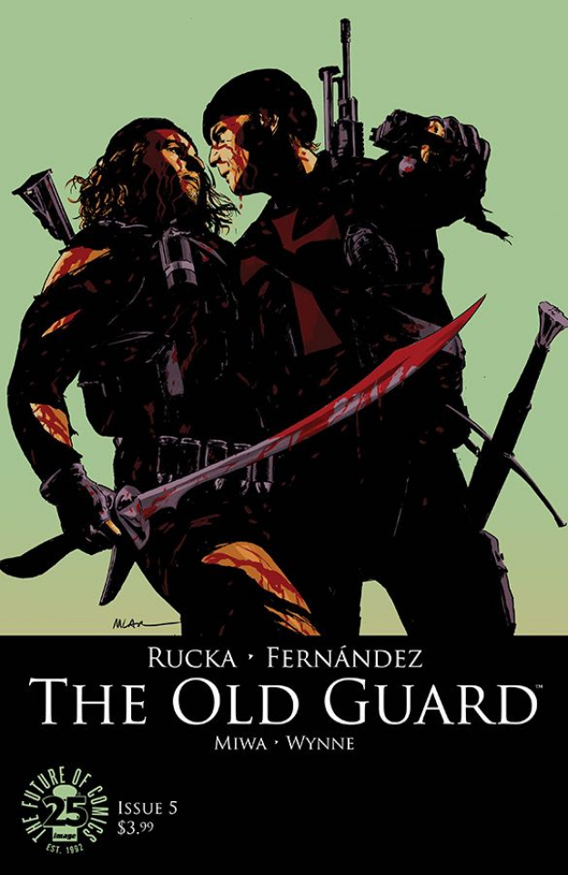 The Old Guard #5 (Pride Month Cover)