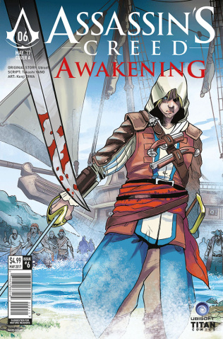 Assassin's Creed: Awakening #6 (Mandalari Cover)