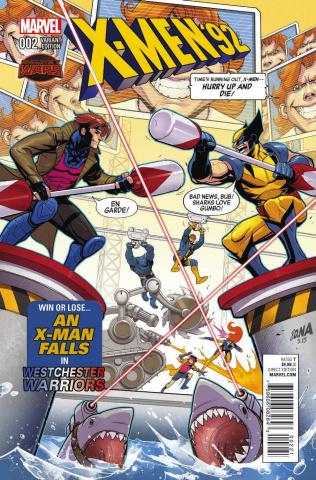 X-Men '92 #2 (Variant Cover)