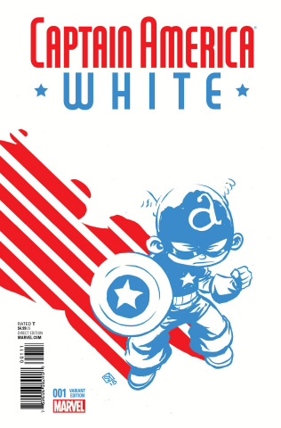 Captain America: White #1 (Young Cover)
