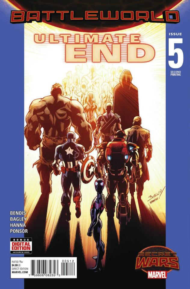 Ultimate End #5 (Bagley 2nd Printing)