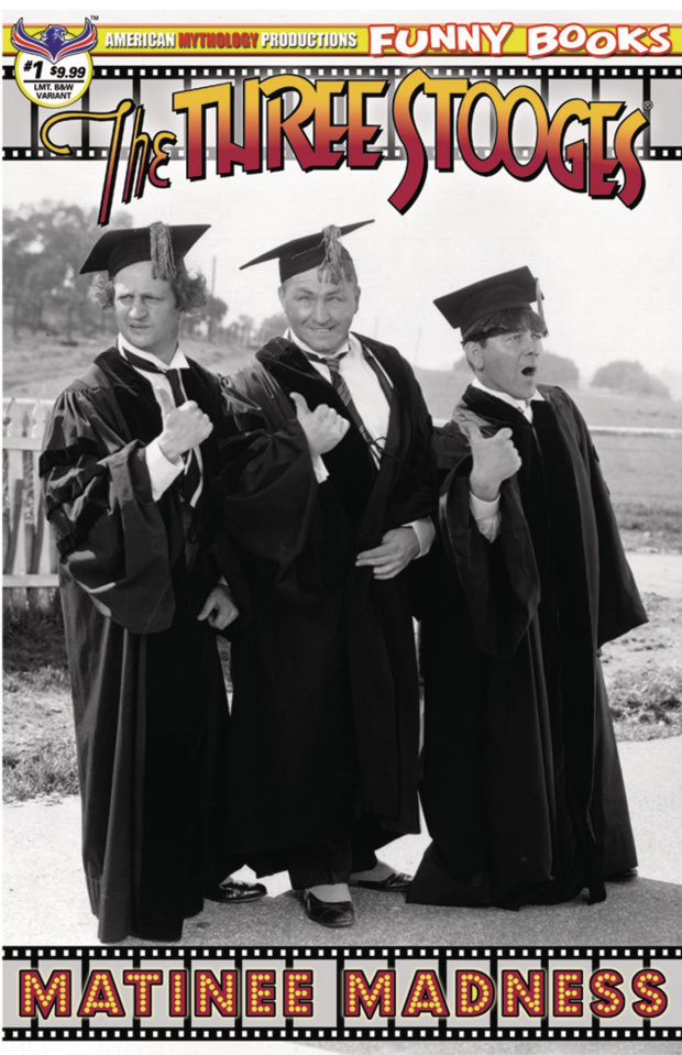 The Three Stooges: Matinee Madness #1 (Premium B&W Photo Cover)