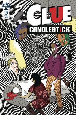 Clue: Candlestick #3 (Shaw Cover)