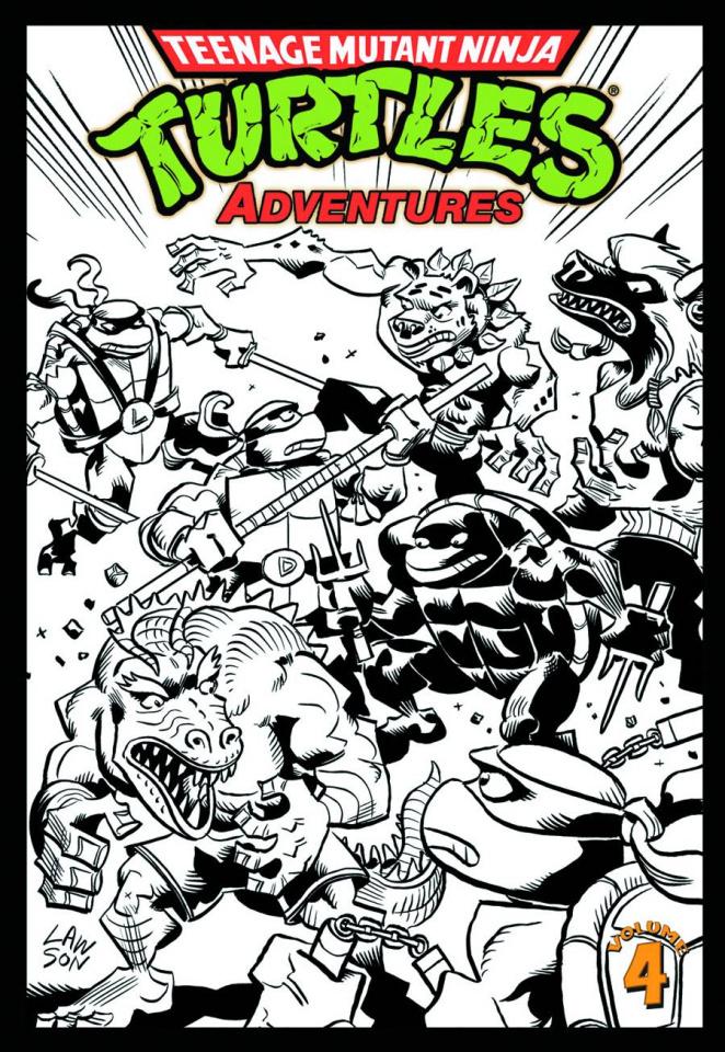 Teenage Mutant Ninja Turtles Adventures Vol. 4