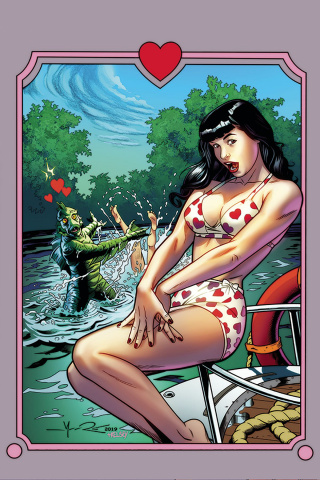 Bettie Page: Unbound #9 (20 Copy Moore Virgin Cover)