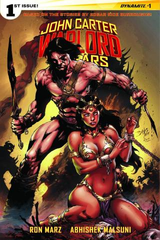 John Carter: Warlord of Mars #1 (Benes Cover)