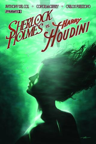 Sherlock Holmes vs. Harry Houdini #3 (Campbell Cover)
