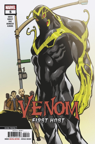 Venom: First Host #5 (Bagley 2nd Printing)