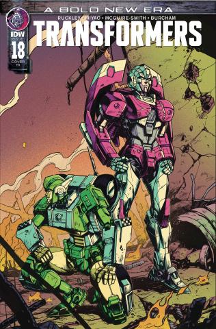 The Transformers #18 (10 Copy Zama Cover)