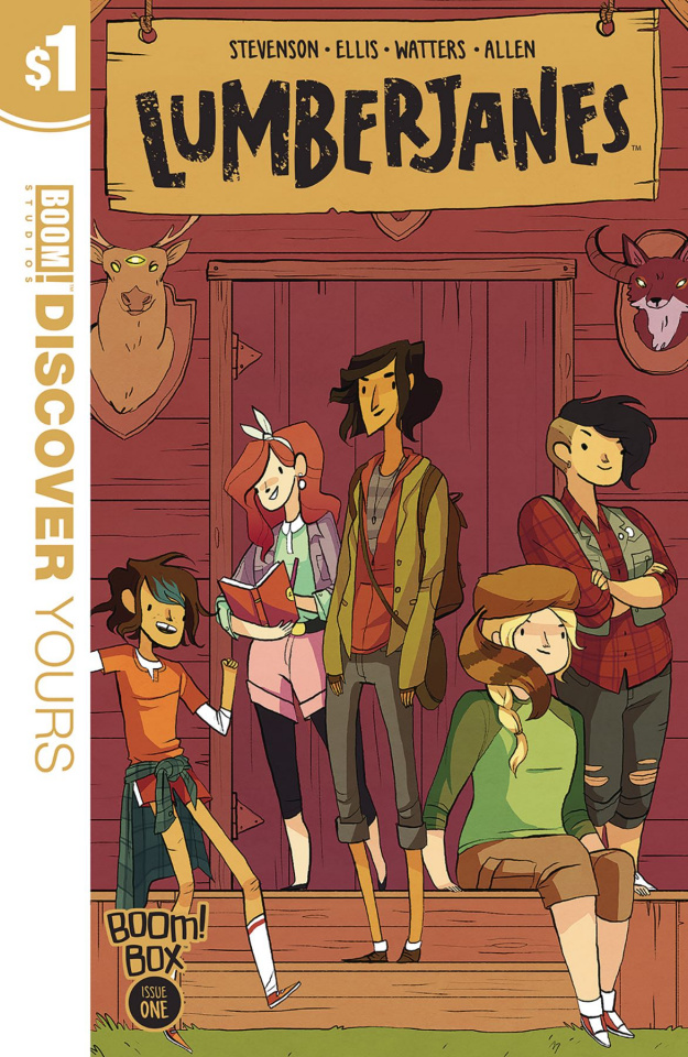 Lumberjanes #1 (Discover Yours Edition)