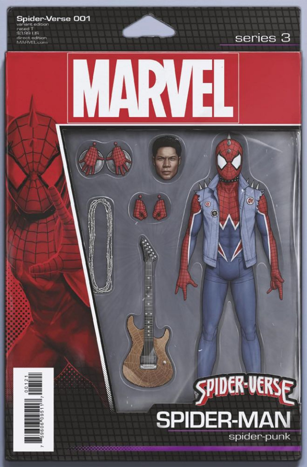 Spider-Verse #1 (Christopher Action Figure Cover)