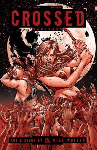 Crossed: Badlands #83 (Red Crossed Cover)