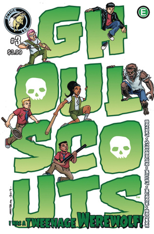Ghoul Scouts: I Was a Tweenage Werewolf! #3