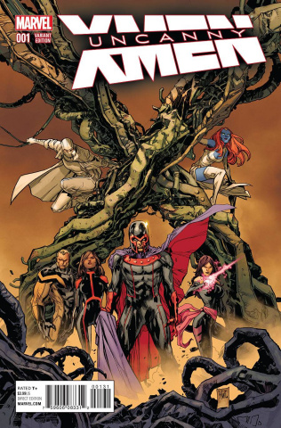 Uncanny X-Men #1 (Lashley Cover)