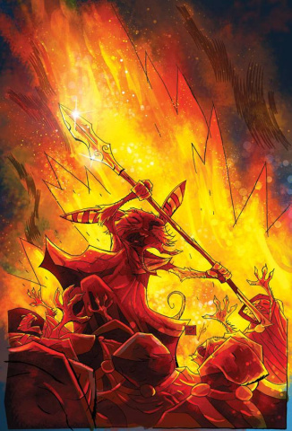 Mice Templar: The Legend #8 (Santos & Free Cover)